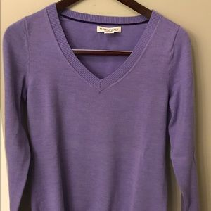 Women's Banana Republic Purple Merino Sweater
